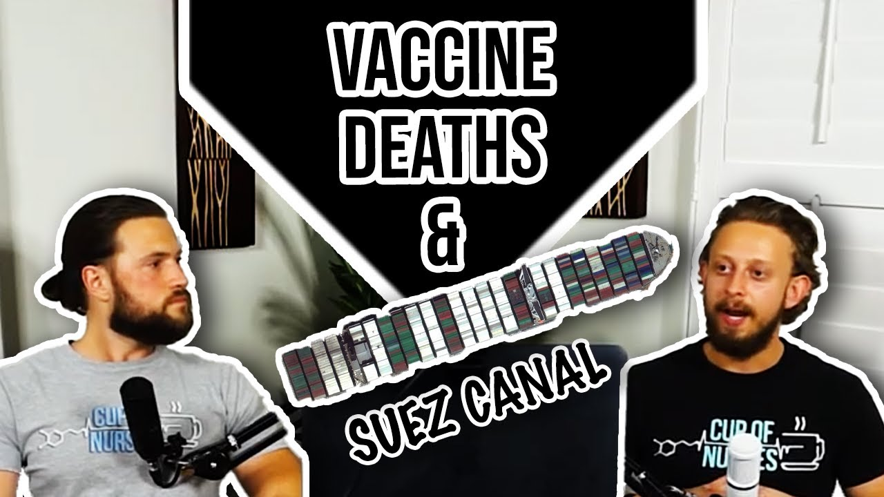 suez canal and vaccine deaths