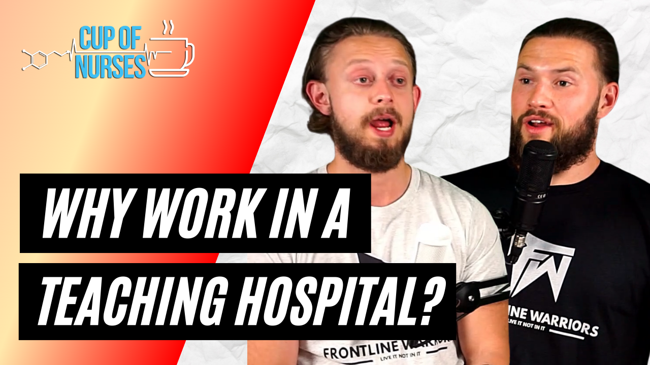 Pro's vs. Con's Working in a Teaching Hospital