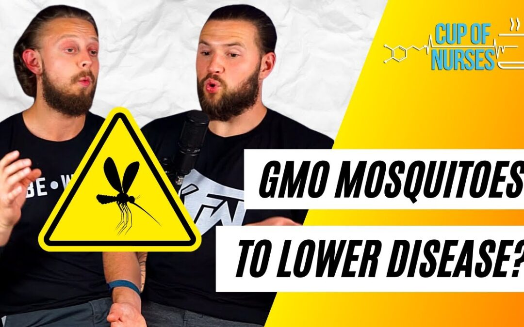 EP 47: GMO Mosquitos and How the Gut Microbiome Influences Blood Pressure