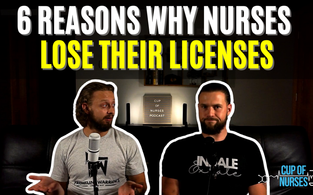 CON EP 62: Nutrition Labels and Nurses Losing Their Licenses